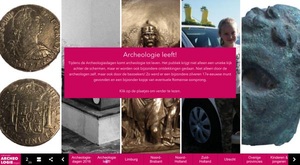 Ontdekkingen tijdens de Archeologiedagen